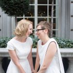 two brides in London